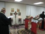 Посещение чудотворной мироточивой иконой Божией Матери Иверской (Гавайской) прихода св. вмч. Варвары в Оранж Каунти